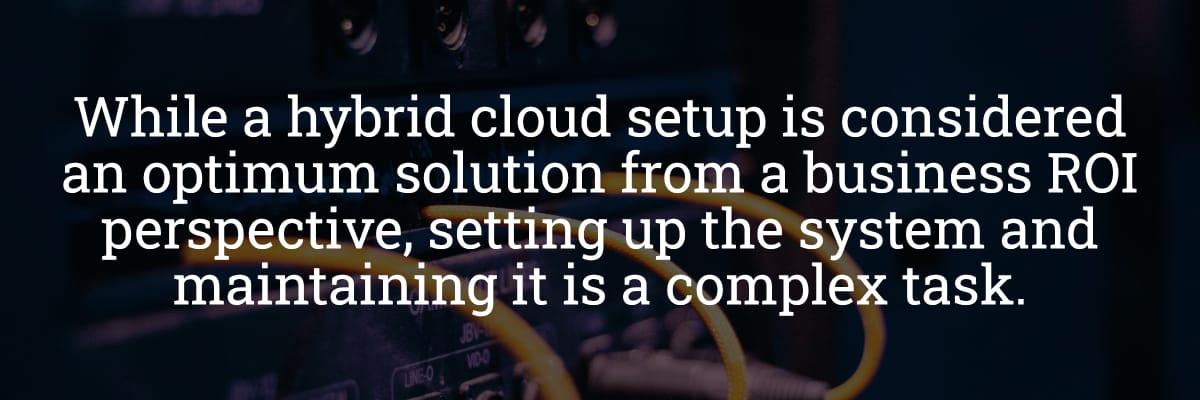 ERP Cloud Setup ROI